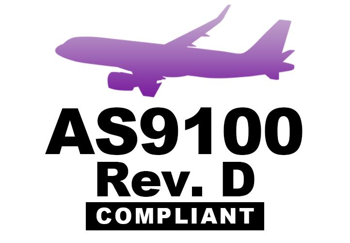 AS9100D Compliant