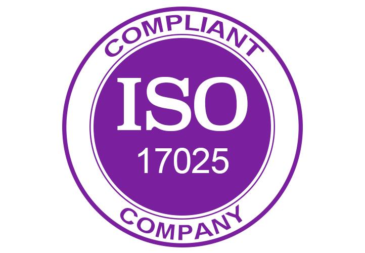ISO 17025 Compliant